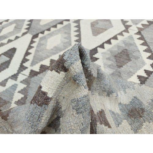 9'68x6'76 Sheep Wool Handwoven Natural Traditional Afghan kilim Area Rug