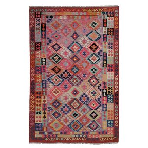 exclusive Kelim Teppich 304x205 cm Multicolor afghan kilim teppich