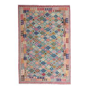exclusive Kelim Teppich 300x202 cm Multicolor afghan kilim teppich