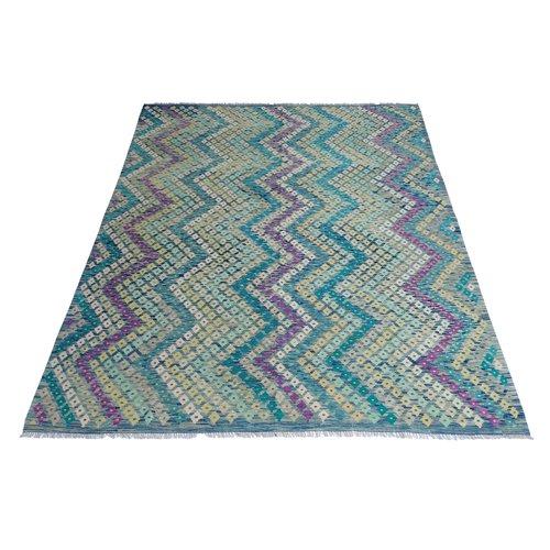 exclusive Kelim Teppich 305x251 cm Multicolor afghan kilim teppich
