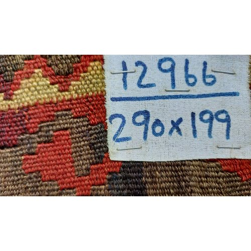 exclusive Kelim Teppich 290x199 cm Multicolor afghan kilim teppich