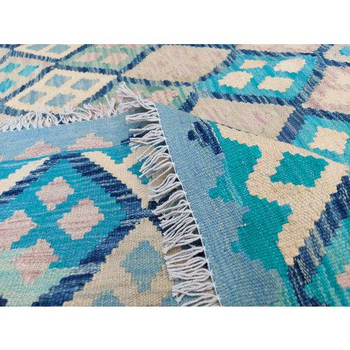 exclusive Kelim Teppich 294x250 cm Multicolor afghan kilim teppich
