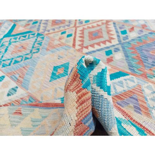 exclusive Kelim Teppich 350x246 cm Multicolor afghan kilim teppich