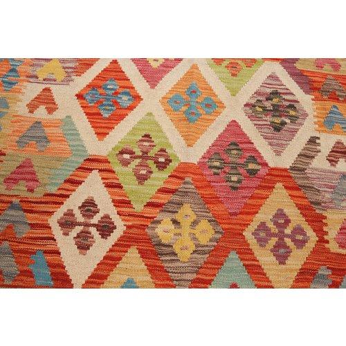 kelim teppich 199x153cm Multicolor afghan