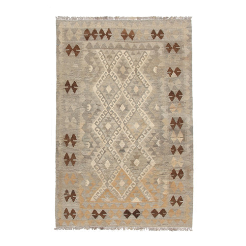 kilim teppich 191x126cm naturalcolor afghan