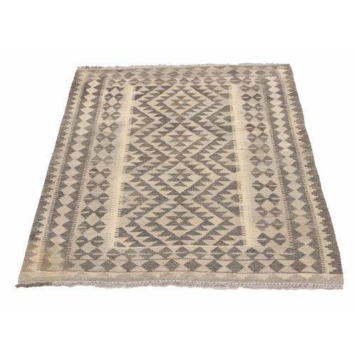 kilim carpet 145X100cm Handwoven Multicolor Traditional Afghan