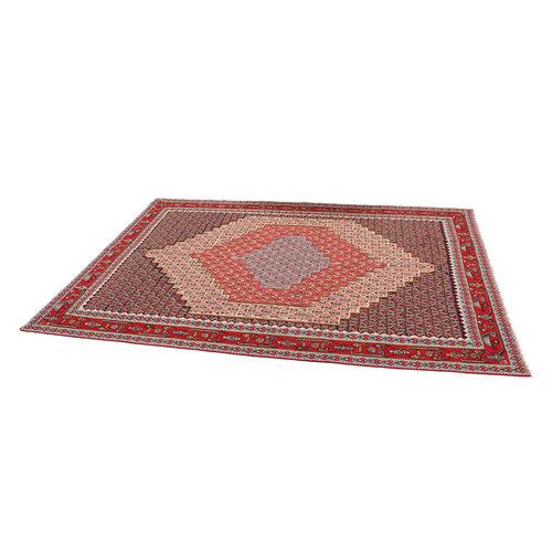 kilim carpet 301x208cm Handwoven Multicolor Traditional Afghan