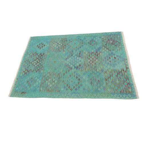 Kelim teppich 194X152  cm Multicolor afghan