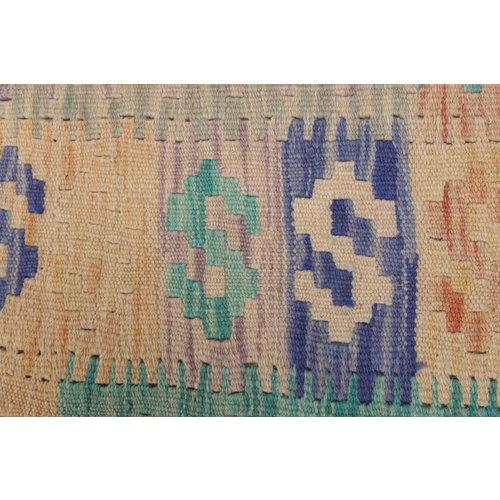 Kelim kleed 193X154 cm   Multicolor Kleed Hand Geweven