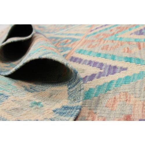 Kelim teppich 202X160cm Multicolor afghan