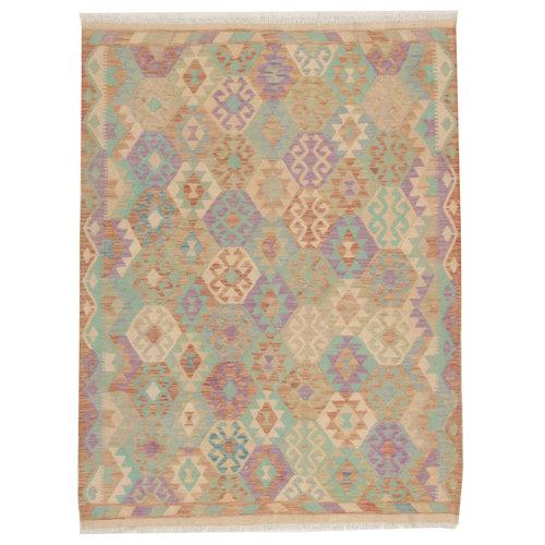 Kelim teppich 199X152cm Multicolor afghan