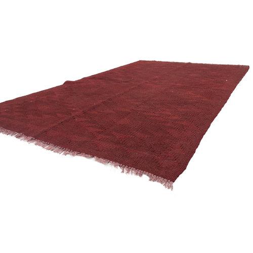 158x98  cm Handgemacht afghanisch Wolle Kelim Orientteppich