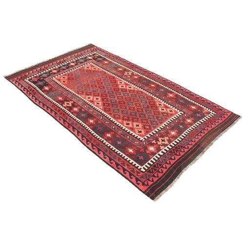 8'x4'69 Handmade Afghan Tribal Kilim Area Rug Wool Kelim Carpet