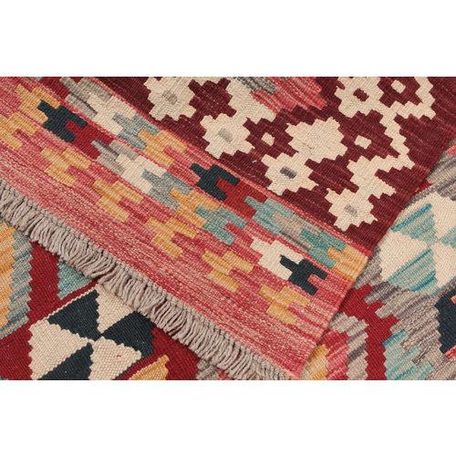 176x123  cm Handgemacht afghanisch Wolle Kelim Orientteppich