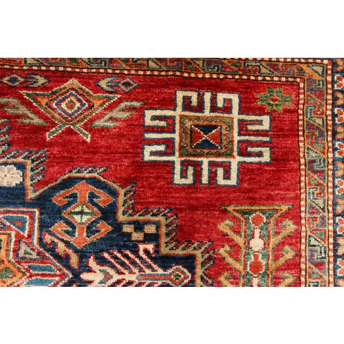 241x172 cm kazak tapijt fijn  Handgeknoopt wol