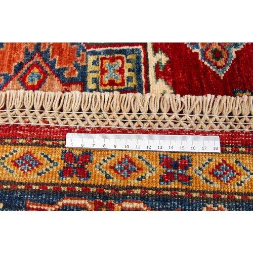 246x172 cm kazak Teppich fine handgeknüpft wolle