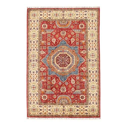 255x170 cm Kazak Rug Fine Hand knotted  Wool Oriental Carpet