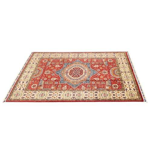 234x169 cm Kazak Rug Fine Hand knotted  Wool Oriental Carpet