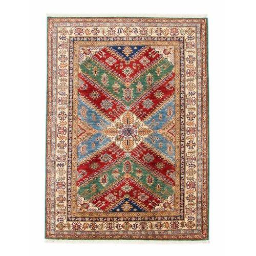 236x168 cm kazak tapijt fijn  Handgeknoopt wol