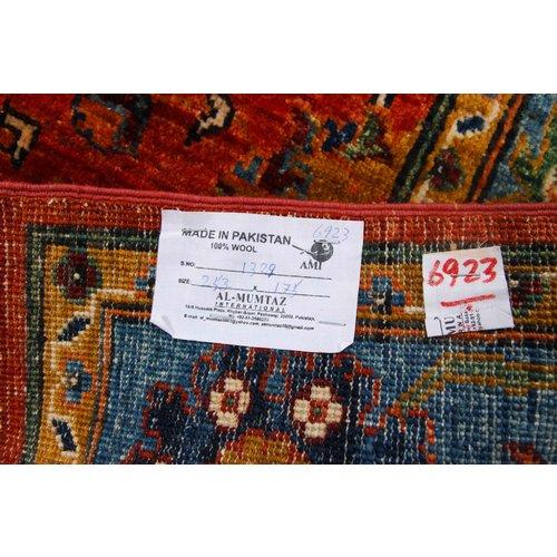 253x175 cm kazak Teppich fine handgeknüpft wolle