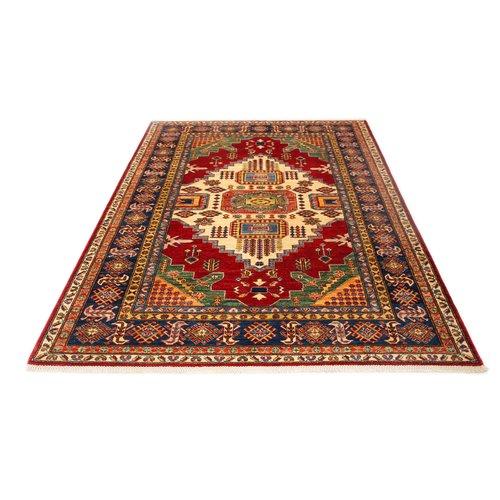 248x178 cm kazak tapijt fijn  Handgeknoopt wol