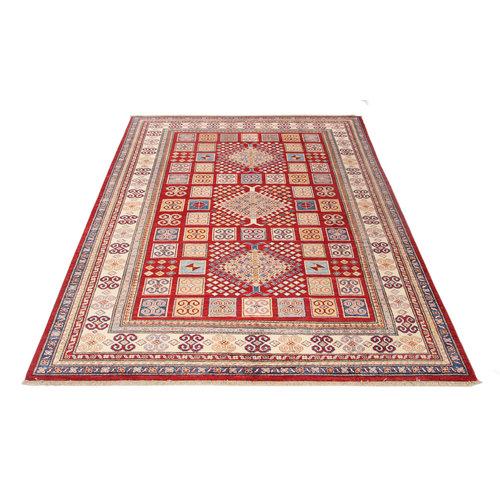 231x171 cm kazak tapijt fijn  Handgeknoopt wol