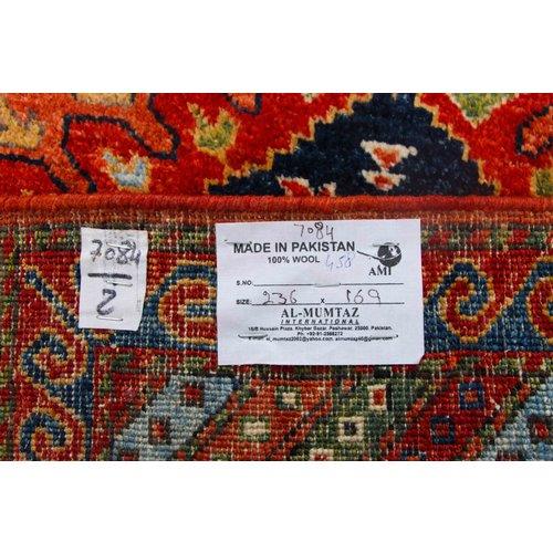 236x169 cm kazak Teppich fine handgeknüpft wolle