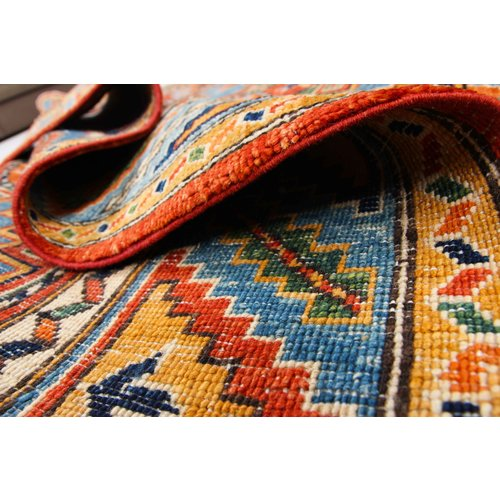 245x166 cm kazak Teppich fine handgeknüpft wolle