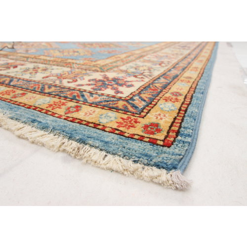 246x173 cm Kazak Rug Fine Hand knotted  Wool Oriental Carpet
