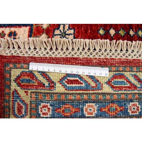 250x181 cm kazak Teppich fine handgeknüpft wolle
