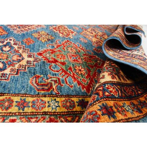 245x180 cm kazak tapijt fijn  Handgeknoopt wol