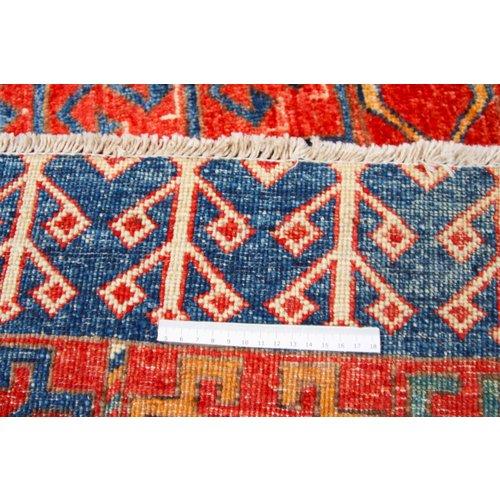 239x172 cm Kazak Rug Fine Hand knotted  Wool Oriental Carpet