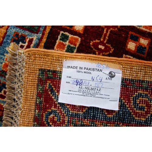 248x182 cm  Kazak Rug Fine Hand knotted  Wool Oriental Carpet