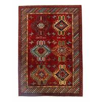 243x169 cm  Kazak Rug Fine Hand knotted  Wool Oriental Carpet