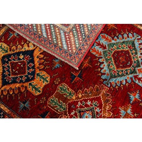 243x169 cm  kazak Teppich fine handgeknüpft wolle