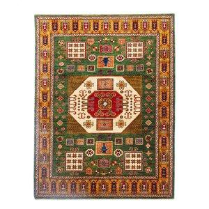 247x184 cm  Kazak Rug Fine Hand knotted  Wool Oriental Carpet