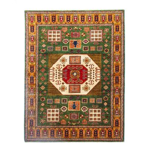 247x184 cm kazak tapijt fijn  Handgeknoopt wol