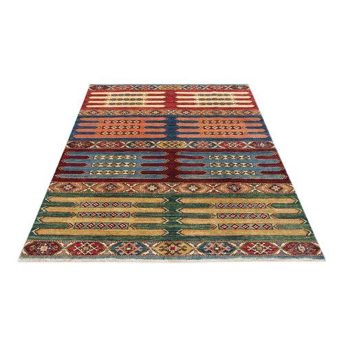 234x170 cm  kazak Teppich fine handgeknüpft wolle