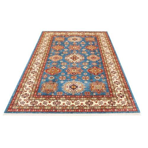 252x176 cm kazak Teppich fine handgeknüpft wolle
