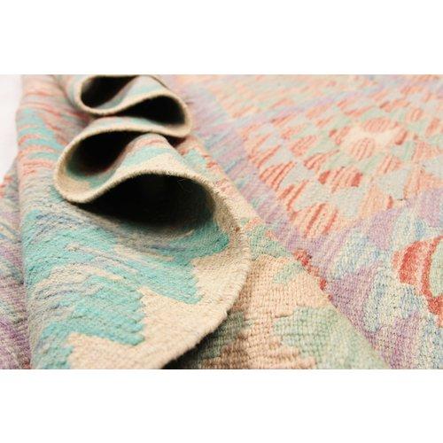 191x152 cm Handmade Afghan Kilim Rug Wool Carpet