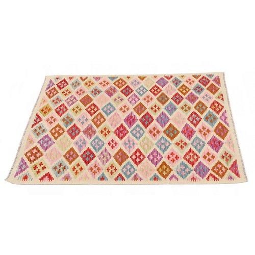 177x122 cm Handmade Afghan Kilim Rug Wool Carpet