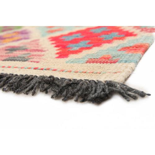 155x97 cm Handmade Afghan Kilim Rug Wool Carpet