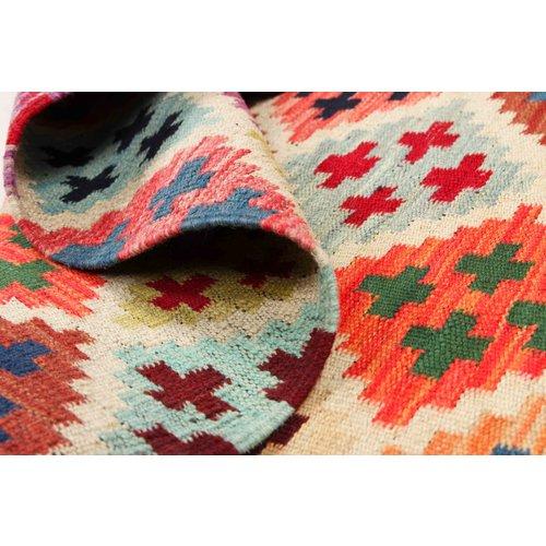 153x95 cm Handmade Afghan Kilim Rug Wool Carpet