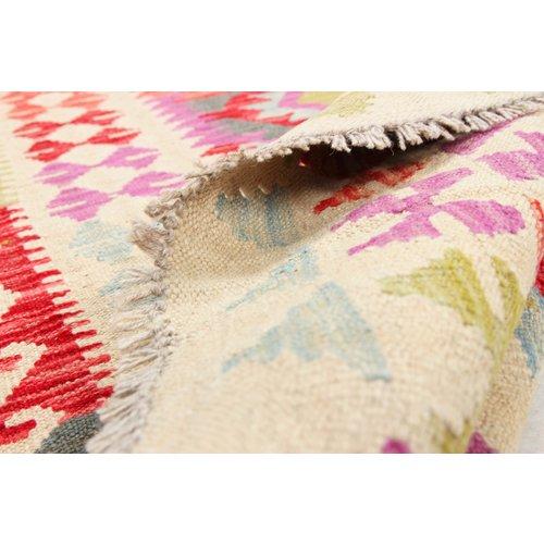 149x102 cm Handmade Afghan Kilim Rug Wool Carpet