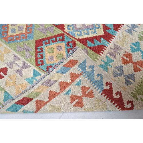 Quality Hand woven wool kilim Carpet Kelim Rug 6'29X4'69 or 192X143 cm