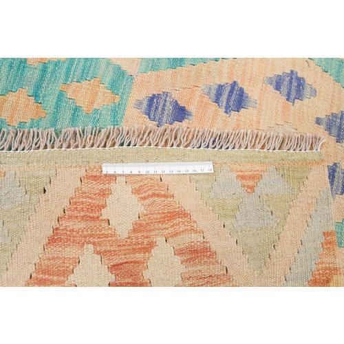 214x152 cm Handmade Afghan Kilim Rug Wool Carpet