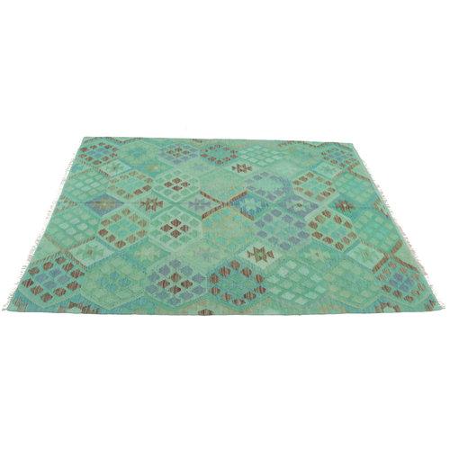 Kelim teppich 199x149cm Multicolor afghan