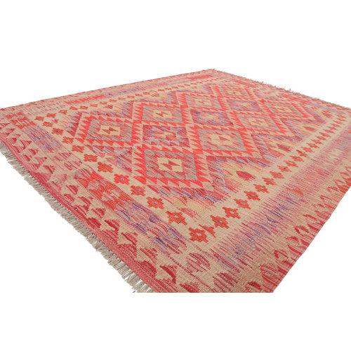 190x150 cm Handmade Afghan Kilim Rug Wool Carpet