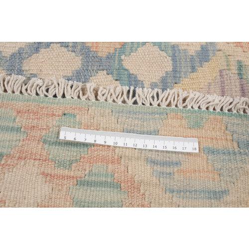 6'7x5' cm Handmade Afghan Kilim Rug Wool Carpet