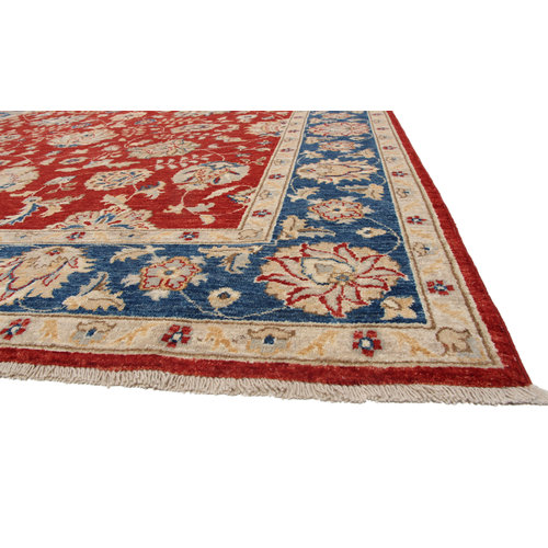 288x213 cm Hand knotted Traditional Ziegler Wool Carpet
